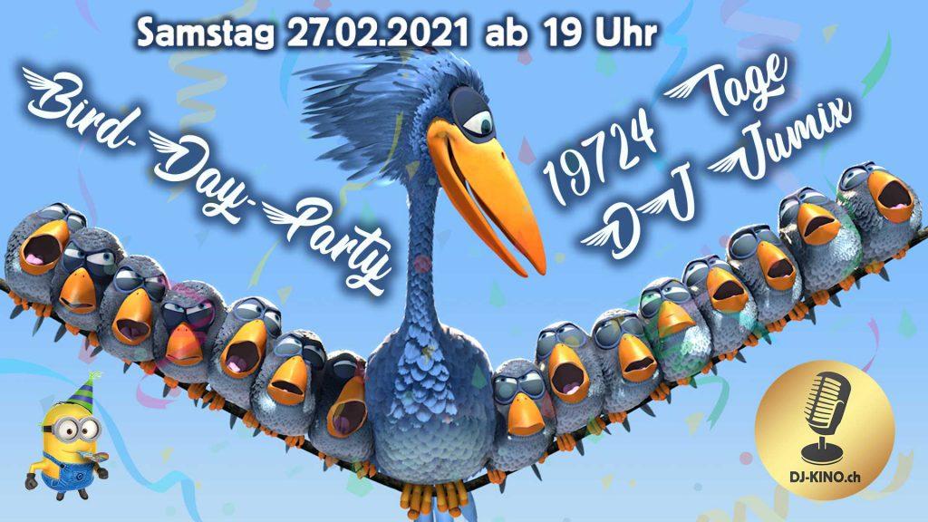DJ-Kino-Bird-Day-Plakat