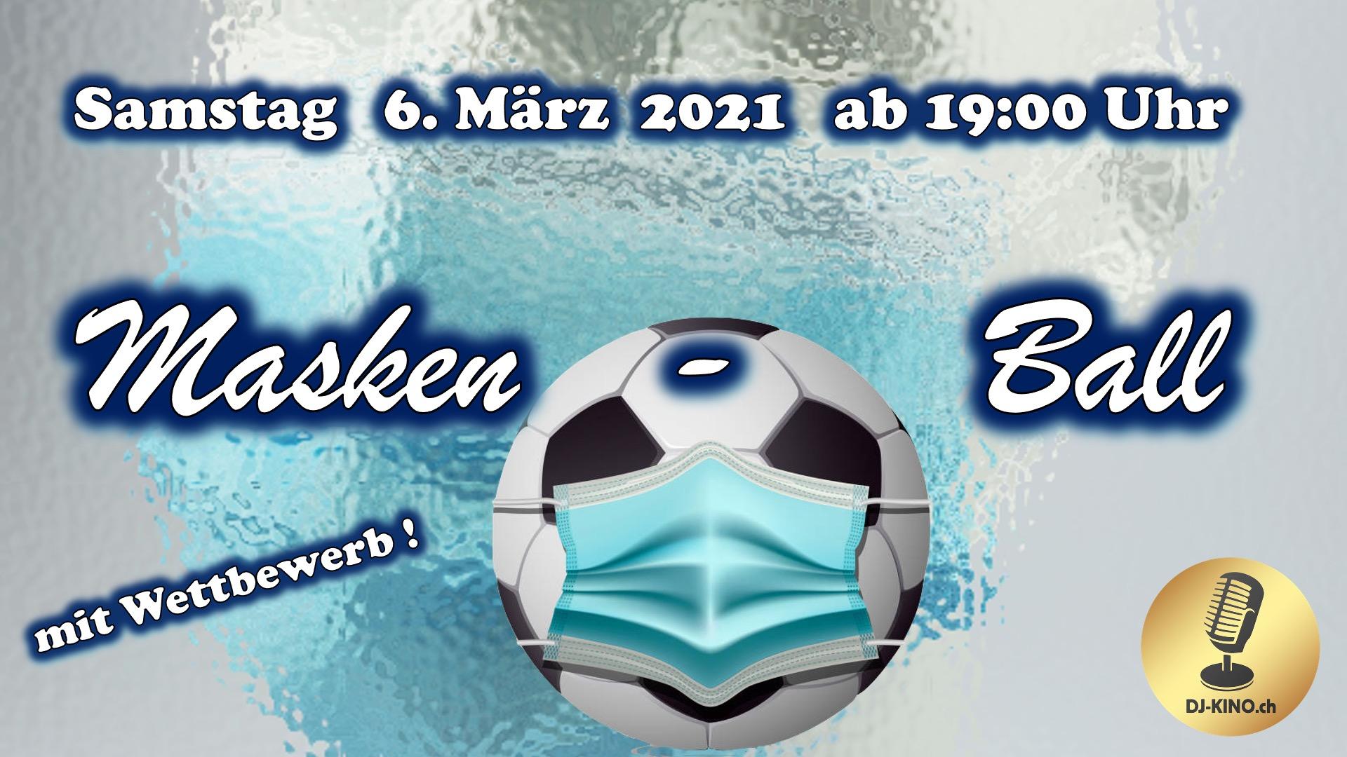 Masken-Ball-Plakat